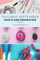 This Was September - Looking back at the month of September at littlegirldesigns.com. Projects, what I'm reading, and a new resource that's coming out soon!