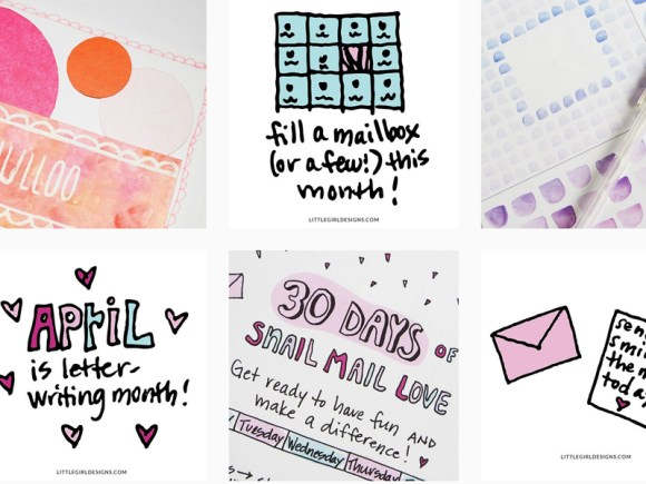 The 30 Day Mailbox Love challenge has helped soooo many people get back into their letter writing groove. Join today!