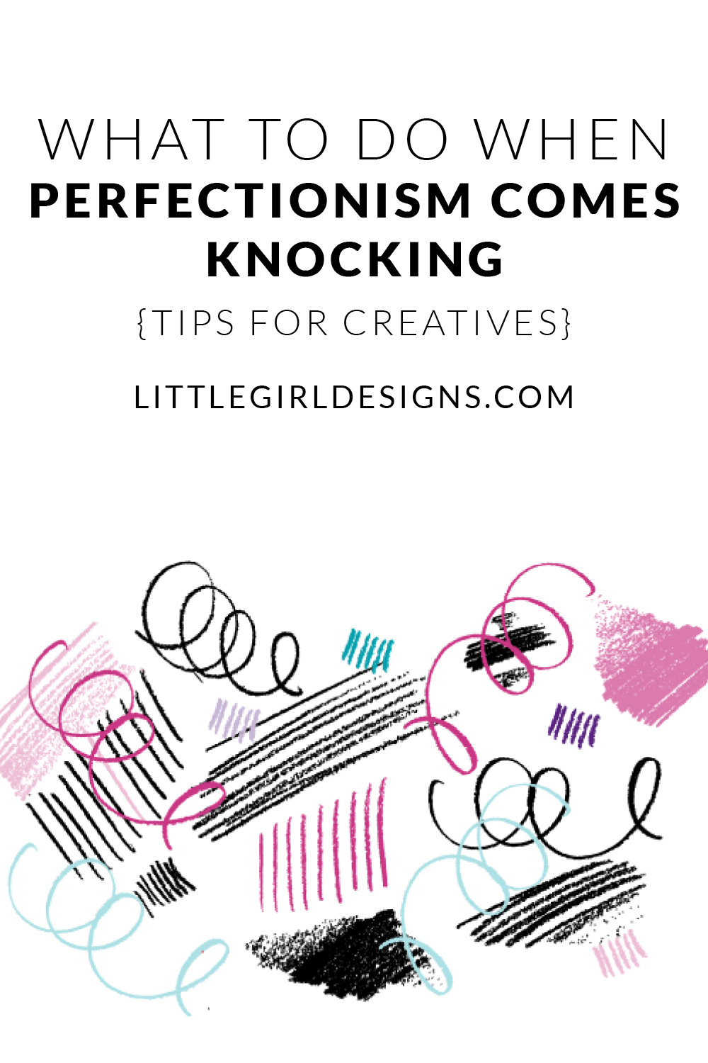Ah, perfectionism. It's the bane of creatives, right? It's something most (if not all) of us have to deal with, so how do we get past it so we can get down to the business of creating? Click through to read my thoughts (and some great insight from a reader!)