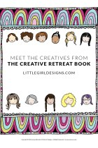 I knew when I updated The Creative Retreat workbook (and made it into a paperback!) I would want to include interviews from other creative women. And today's the day to introduce you to them! They are so amazing! :) :)