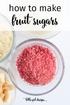 How to Make Fruit Sugar