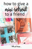 How to Give a Mini-Retreat to a Friend