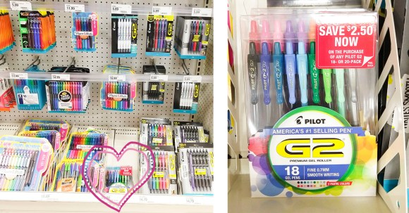Try these awesome G2 pens from Target! They're great for happy journaling, art journaling, and doodling! #ad #PilotPenBackToSchool #PowerToThePen #CollectiveBias @Target @pilotpenUSA