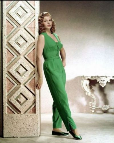 rita hayworth, photo via pinterest.