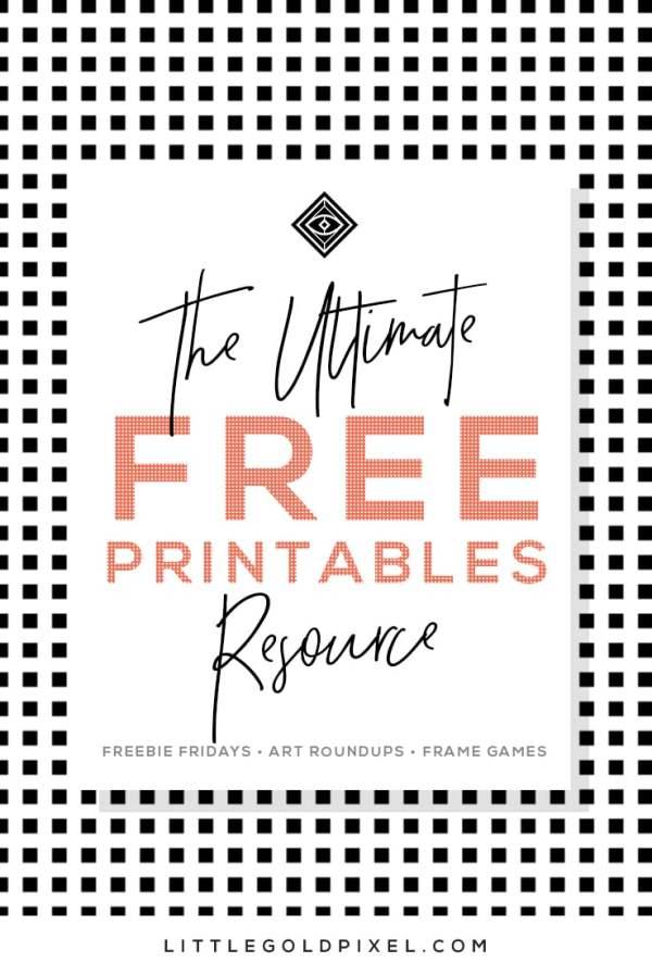 free printable # 13