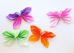 DIY-Folded-Paper-Butterfly