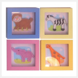 LGF-Kids-Photo-Art-Frames-SAFARI-set