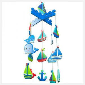 Goldfish Gifts Handmade Boats Mobile