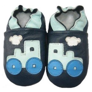 Softies-baby-booties-blue-locomotive-soft-sole-1