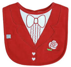 frenchie-red-tuxedo-bib-bowtie-baby-feeding