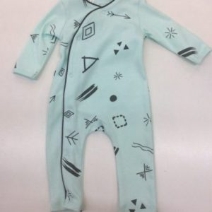 Emotional-kids-footless-mint-Onesie