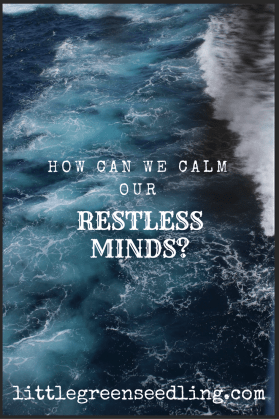 how can we calm our restless minds