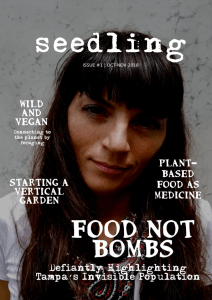 seedling - free vegan magazine