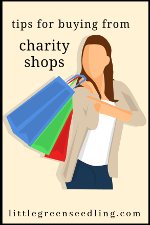 Buying second-hand is better for people, the planet and your wallet. Here are some tips for finding things you love at charity shops. #sustainable #savingmoney #fashion