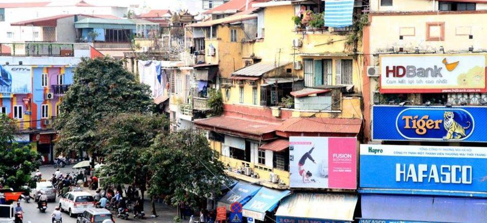 The buzzing streets of Hanoi