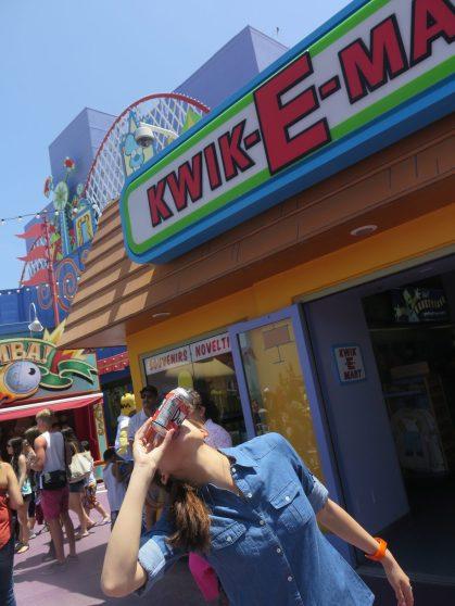 Universal Studios shotgunning