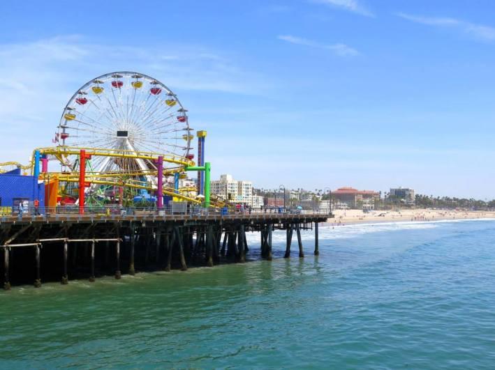 USA Santa Monica Pier