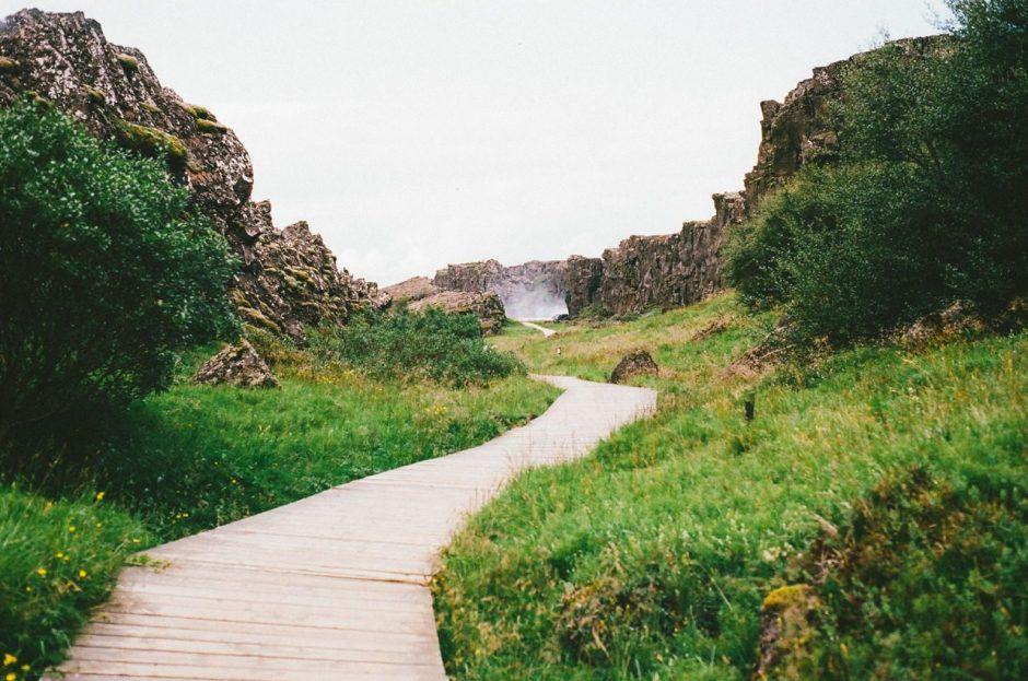Iceland path