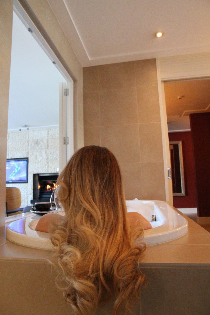 The Spire Hotel Queenstown Bedroom Review Travel Blog Tips Bathroom Bathtub