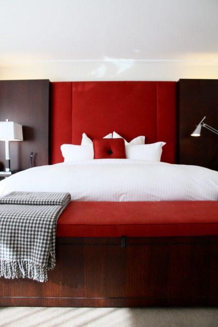 The Spire Hotel Queenstown Bedroom Review Travel Blog Tips Bed