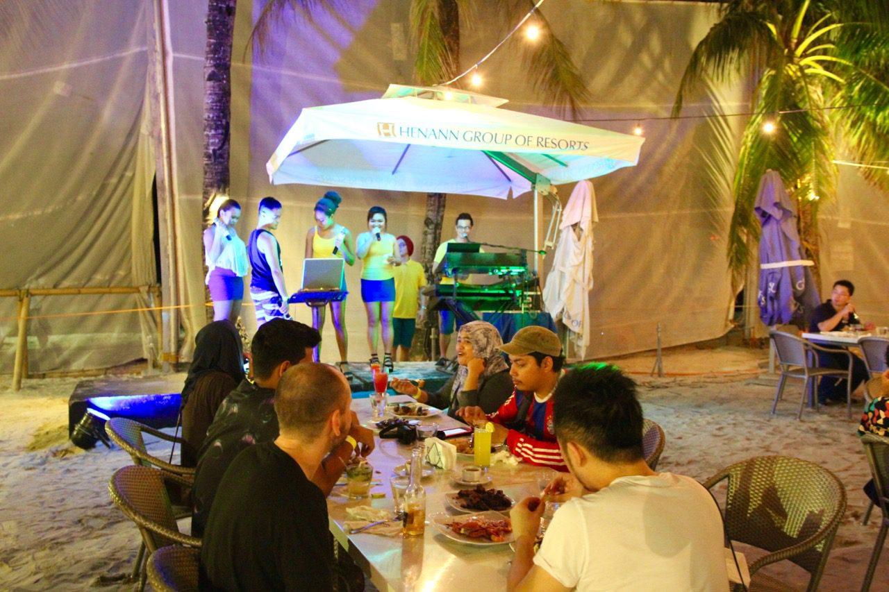 Seabreeze Restaurant Henann Lagoon Resort Travel Blog Review Philippines Holiday
