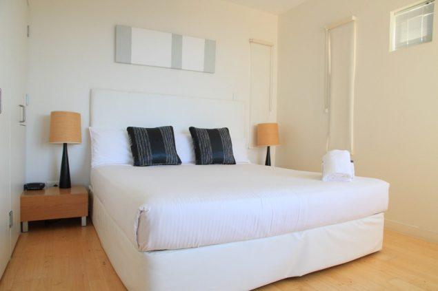 Bedroom Rainbow Ocean Palms Resort Review Travel Blog Queensland Australia Rainbow Beach