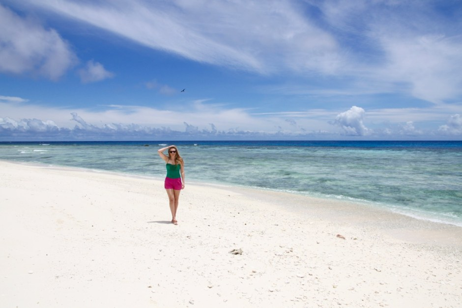 Phoebe Lee Travel Blogger Australia Queensland Brisbane Lady Eliot Island