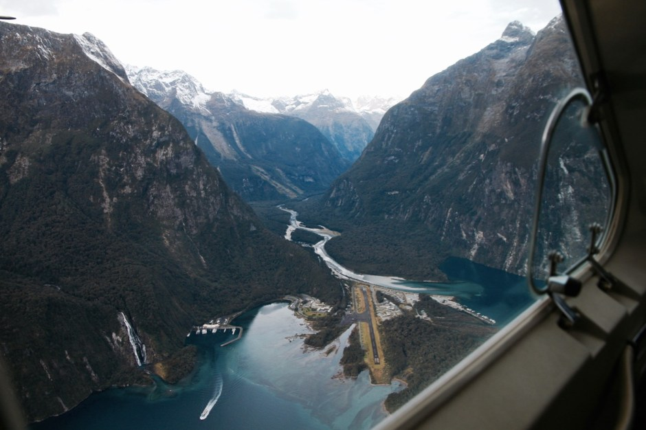 The best way to see Milford Sound...