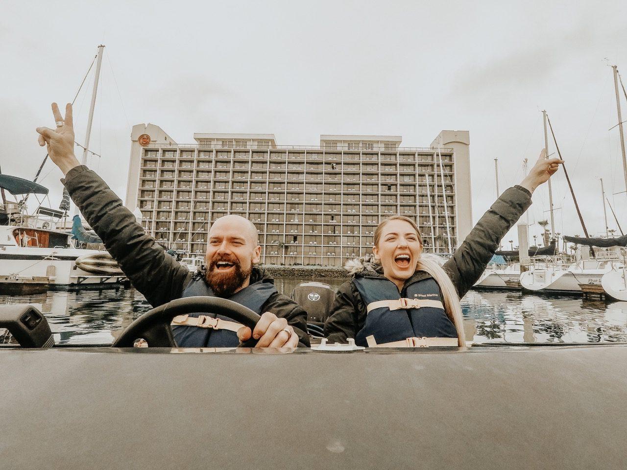 Speed Boat Adventures Tours, San Diego ©Little Grey Box