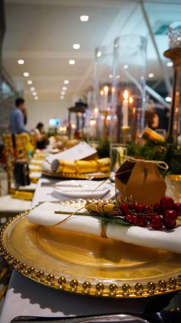 Brisbane Airport Christmas Dinner Food - 12