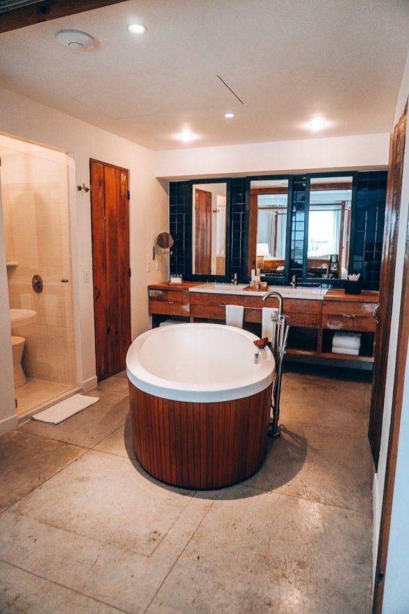 Our bathroom at El Ganzo