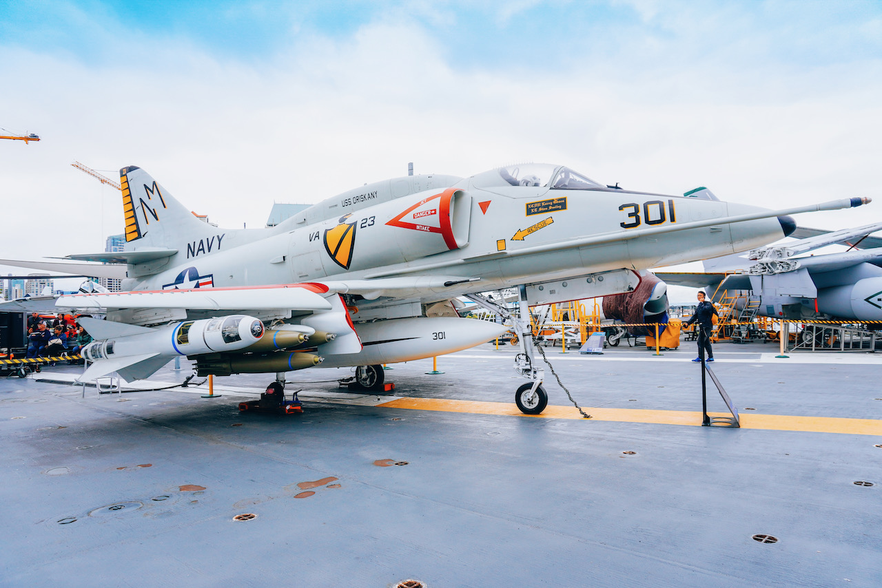 USS Midway Museum  ©Little Grey Box