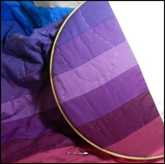 Rainbow Jelly Roll Quilt - little grey hedgehog
