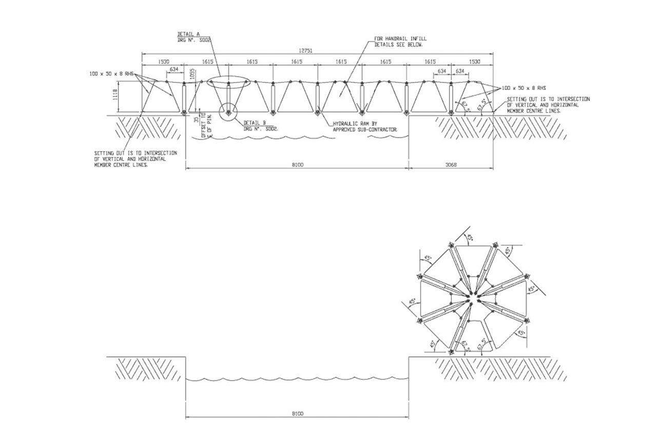 Thomas Heatherwick Rolling Bridge