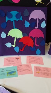 umbrella felt play