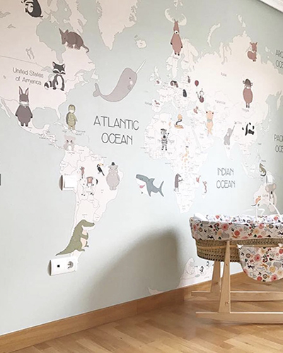 LH – Animals World Map IV Room