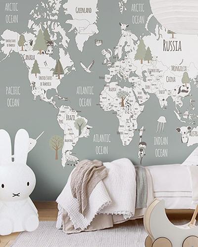 LH – Animals World Map V Room