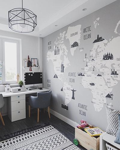 LH – Landmark World Map Room