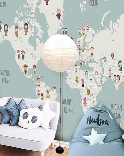LH – United Nation World Map Room