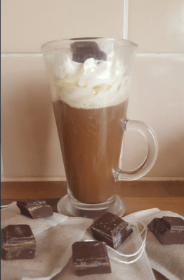 Hot chocolate bag