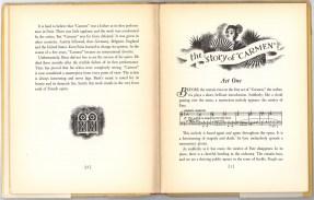 """Первый Акт Истории """"Кармен"""".Детское издание оперы Кармен, 1938 г Нью-йорк.Гроссет & Данлэп (Гильдия Метрополитен-оперы)"""