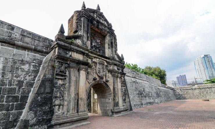 Fort Santiago in Intramuros Manila