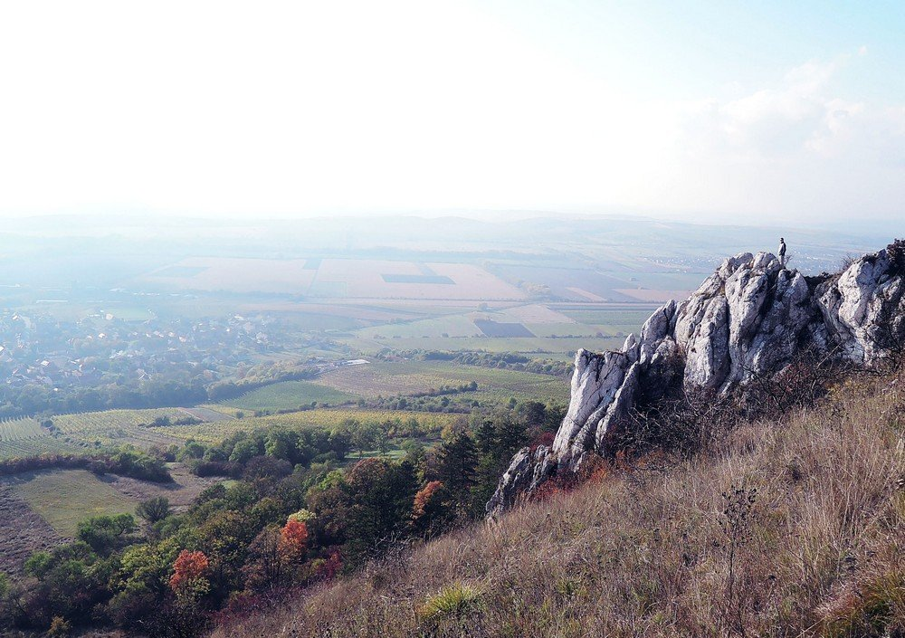 Best things to do in South Moravia - views of the countryside from Klentnice