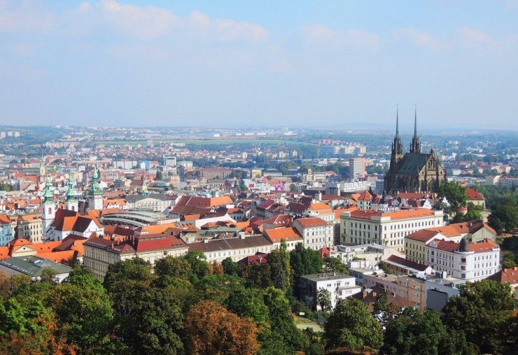 South Moravia's capital is Brno is rich in architecture, cofee culture, and a hip crowd