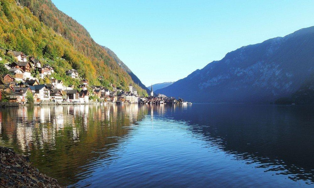 Hallstatt is simply beautiful from all angles. Hallstatt travel guide
