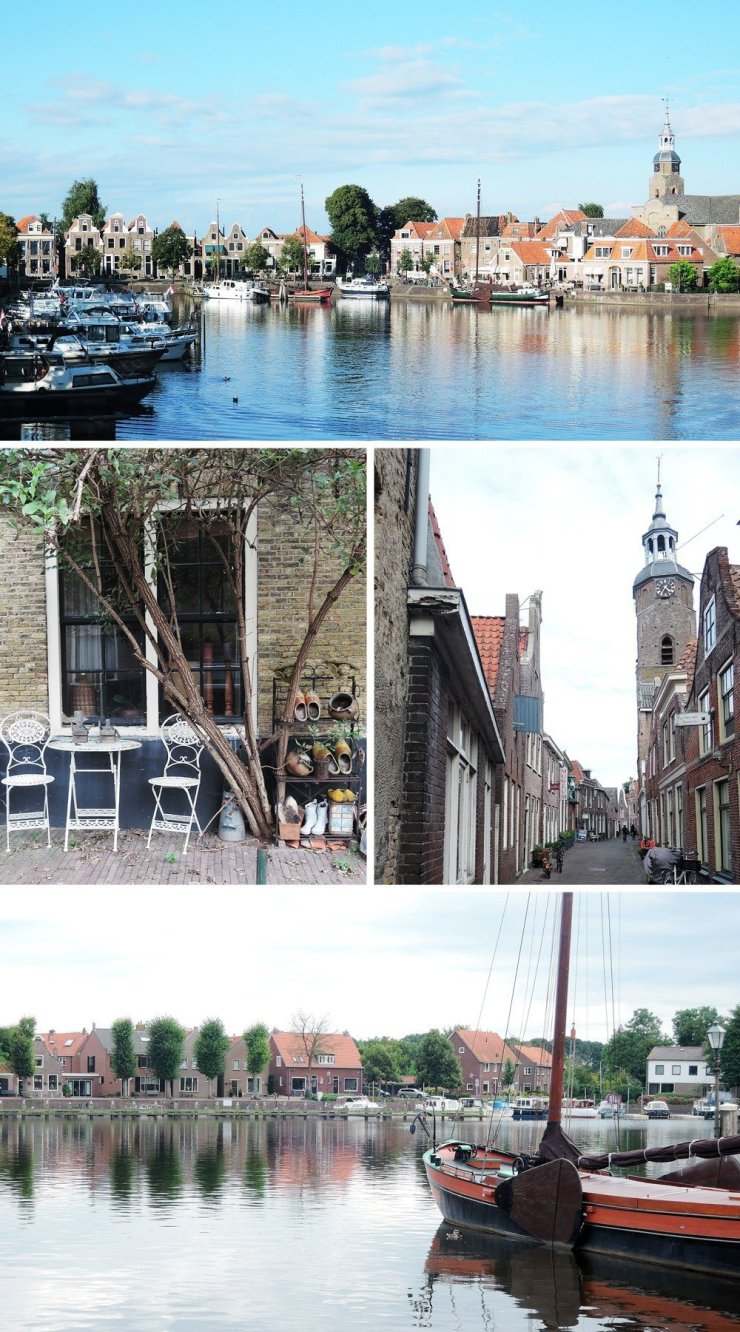 Blokzijl is a great less-touristy alternative to Giethoorn – it's an old port town with historic buildings and romantic streets. Definitely a must-visit when in Flevoland. Check out how to visit by clicking through this guide!