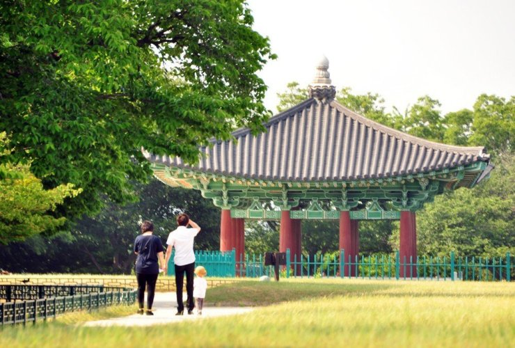 Gyeongju in South Korea is designated as a UNESCO World Cultural Heritage site and a perfect day trip for visitors and locals.