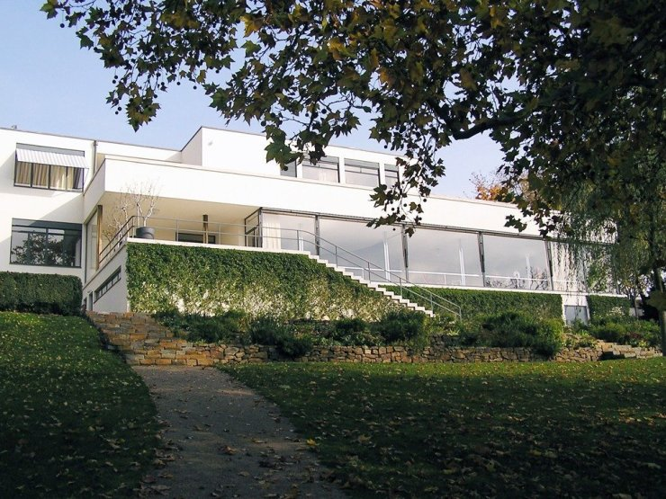 The most famous modernist building in Brno is Villa Tugendhat, a UNESCO World Heritage site. This is just one of the beautiful buildings to see in Brno's architecture trail. Photo by Zia Gouel, Creative Commons.