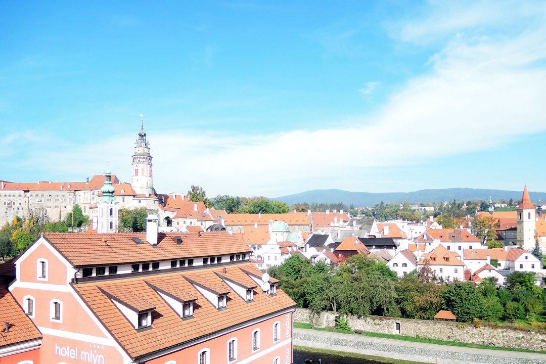 Beautiful views around Cesky Krumlov