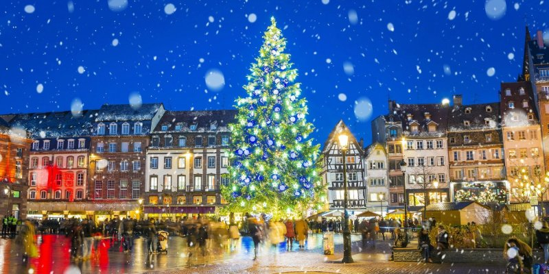 Strasbourg is the Capital of Christmas and the city certainly knows how to celebrate the holidays. If you're coming to Strasbourg during December, make sure to check out the Christmas markets and join in on the festivities.